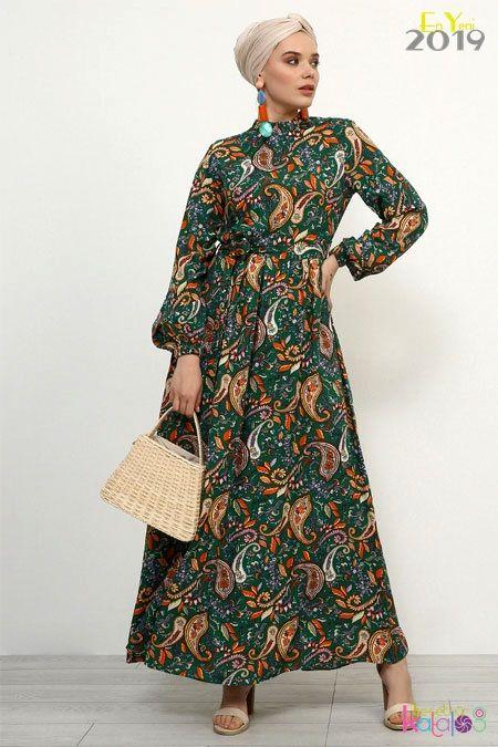 Tesettur Elbise Modelleri Refka 2019 Tesettur Giyim Modelleri Tesettur Katalog Elbise Batik Elbise Basortusu Modasi