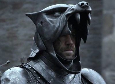 Hound Helmet Battle Helm Mask Game Of Thrones Sandor Clegane Adult HBO Halloween