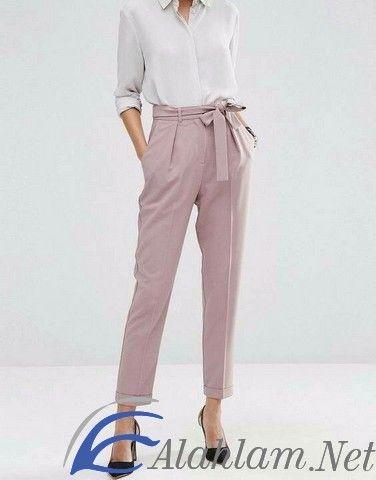 تفسير رؤية البناطيل الواسعة في المنام ابن سيرين ابن شاهين البنطلون البنطلون في الحلم Khaki Pants Fashion Pants