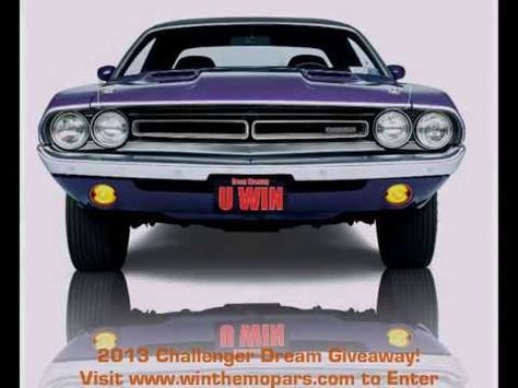 Challenger Dream Giveaway sponsored by New New Beginning Children's Homes will be providing grants to : MADD, Camp Boggy Creek ( a camp for kids with serious medical conditions) and Smile Network. Great causes- tickets $3 donation at: http://www.winthemopars.com.