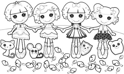 trendy rings yasso pinterest - Lalaloopsy Coloring Pages Mittens