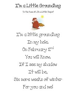 Fun in First Grade: Groundhog Day