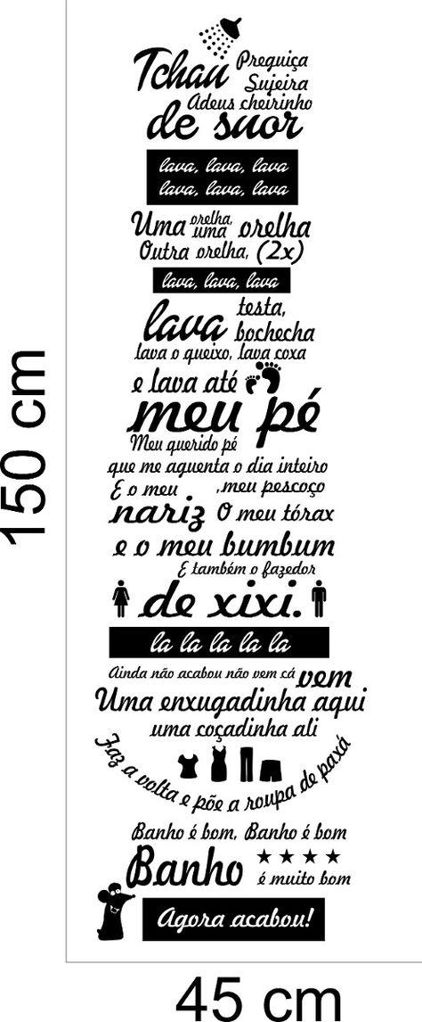 Adesivo Decorativo Banheiro Box Musica Ratinho Ratimbum Lava
