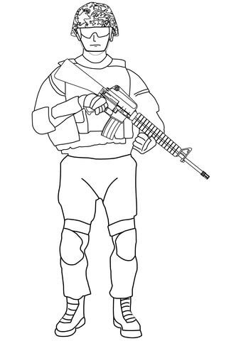 Pin By Karina Tinggard On Militar Malvorlagen Army Men Army Coloring Pages