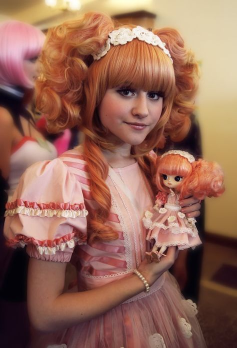 Lolita with matching doll.