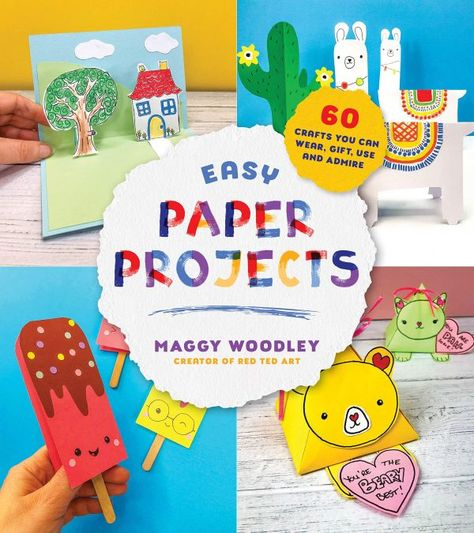 My New Paper Crafts for Kids Book!