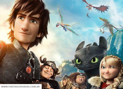 Tarjeta De Cumpleanos De Como Entrenar A Tu Dragon Dragones Como Entrenar A Tu Dragon Entrenando A Tu Dragon