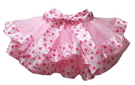 Baby Girl Pink White Dot Waist Flower Petal Pettiskirt Light Pink Dot Bow NB-8Y
