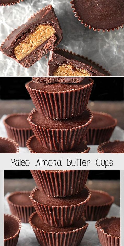 Paleo Almond Butter Cups Pumpkin Chocolate Chip Cookies