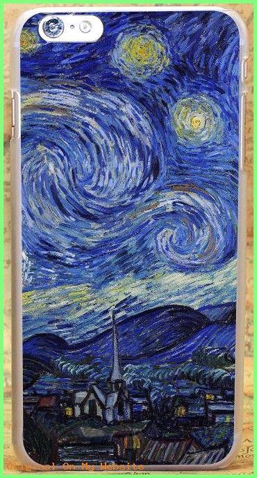 Wallpaper Huawei Hd Aj42 Vincent Van Gogh Starry Night