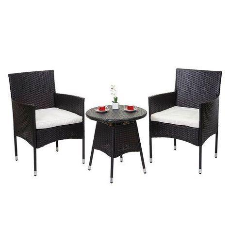 2 Sitzer Lounge Set Mohsin Aus Polyrattan Garten Living Farbe Gestell Braun Farbe Textil Creme Garten Living Dies In 2020 Lounge Aussenmobel Sitzgelegenheiten