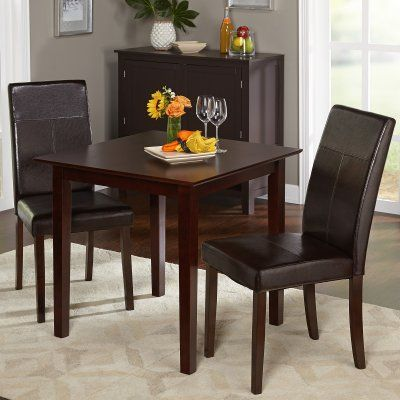 Bettega 3 Piece Dining Table Set Dining Table Setting Dining