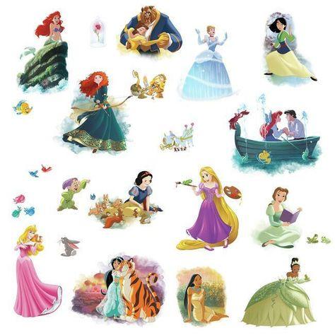 Disney Princess Dream Big Peel and Stick Wall Decals