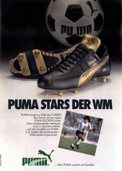 PUB. Puma. Maradona. ~ THE VINTAGE FOOTBALL CLUB | Puma