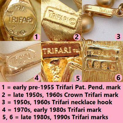 dating crown trifari)
