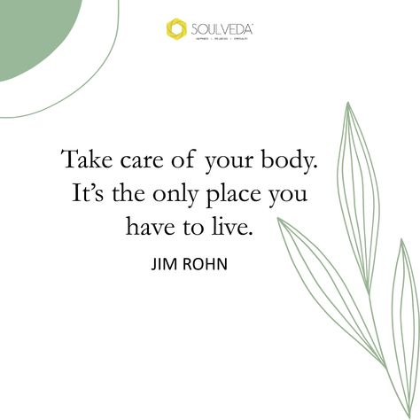 Your health is your most precious possession. Look after it as if your life depends on it because it does. #soulveda #jimrohn #healthiswealth #healthishappiness #healthislife #healthislife #takecareofyourbody #takecareofyourself #takecareofyourmind #healthisachoice #healthquotes #takecarequotes #wellbeingquotes