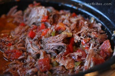 Slow cooked roast for tacos, taquitos, enchiladas. . .  #beef, #Mexican, #recipe