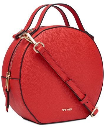 97dc84d7c3b Image 4 of Nine West Devonna Small Top-Handle Circle Crossbody, Created for  Macy's | acessories in 2019 | Bags, Red shoulder bags, Purses, bags