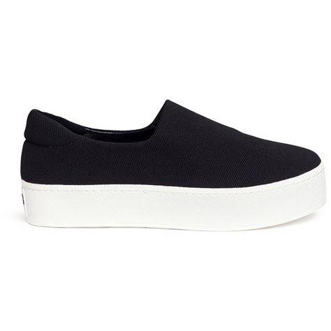 c75b42c487ec List of Pinterest flatform sneakers outfit black images   flatform ...