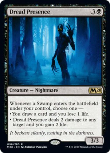 1x Swamp Light Play English Collectors/' Edition MTG Magic White