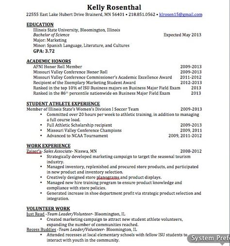 Updated MarketingSales Resume  About Me