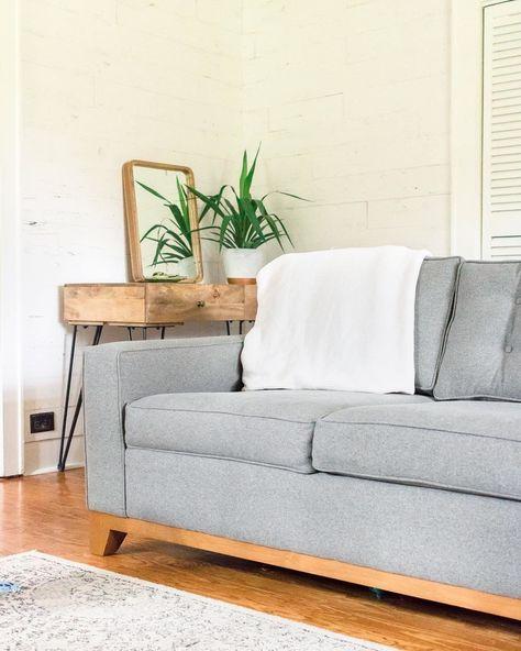 Miraculous Desoto Apartment Size Sofa Leg Finish Pecan Size Machost Co Dining Chair Design Ideas Machostcouk