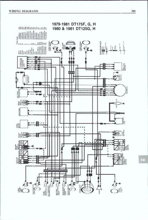 Schaltplan Yamaha Dt 50 R