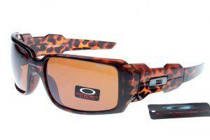 Oakley Oil Rig 2 Sunglasses Orange/Leopard Frame Sandybrown Lens  fashionable and beautiful.