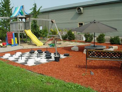 Small Backyard Playground, Small playground, Backyard Design Ideas ...