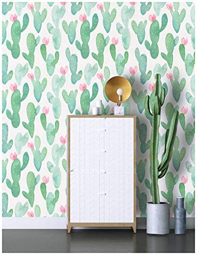 Haokhome 93014 Cactus Peel And Stick Wallpaper Removable Https Www Amazon Com Dp B Removable Brick Wallpaper Peel And Stick Wallpaper Removable Wallpaper