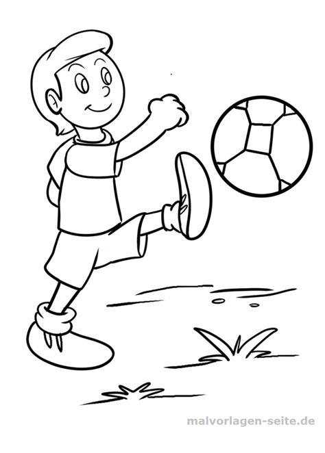 malvorlage fußball  malvorlagen ausmalbilder und