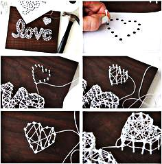 Method of Making String Art Letters  #art #string #stringart - You must have seen some beautiful string art projects? If you are also interested in making one on your own, then don`t worry it is really easy. You j...