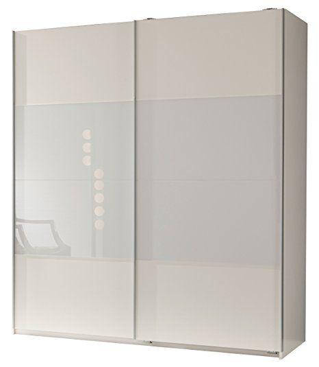 Schwebetürenschrank spiegelfront  Kleiderschrank Schwebetürenschrank, ca. 200cm, inkl. 9 ...