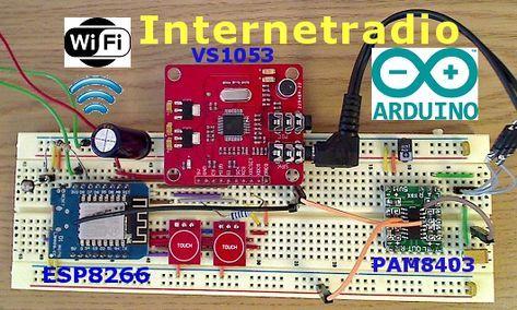 Arduino Webradio mit ESP8266 DIY basteln, Badezimmer WiFi ...