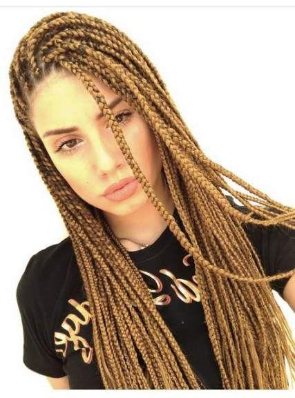 Braids Africanas 2018 41 New Ideas White Girl Braids Box Braids Hairstyles African Braids Hairstyles