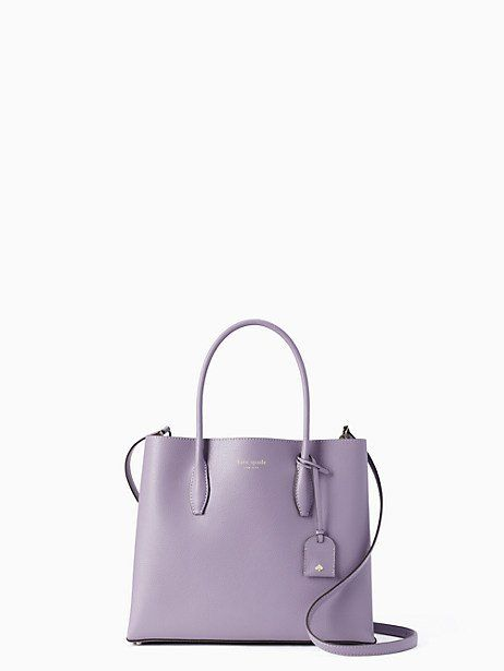 Kate Spade Eva Breezy Floral Medium Satchel Lush Lilac Breezy Fl
