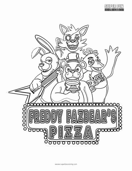 Five Nights At Freddy 039 S Coloring Book Unique Fnaf Coloring Super Fun Coloring Fnaf Coloring Pages Bee Coloring Pages Cartoon Coloring Pages