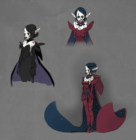 "wishingstarinajar: "" Julith concept art by for 'Dofus Livre Julith'. "" Concepts for Julith, A character from The movie ""Dofus Livre 1 : Julith""."