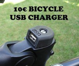 10 Bicycle Usb Charger Usb Chargers Bicycle Bicycle Diy