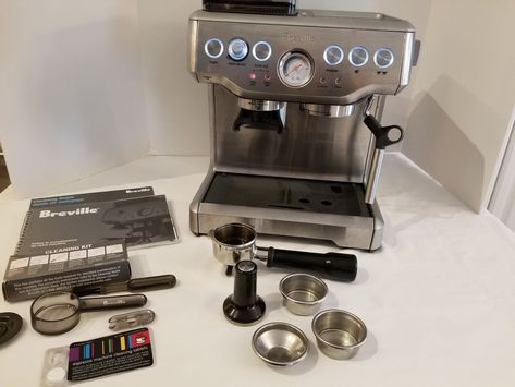 Breville The Barista Express Espresso Machine Bes860xl
