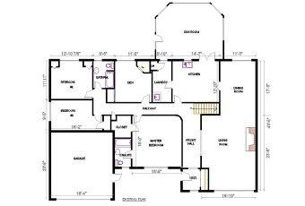 Image Result For Civil Engineering 2d Drawing Bungalow Floor Plans Floor Plans Cottage Style House Plans