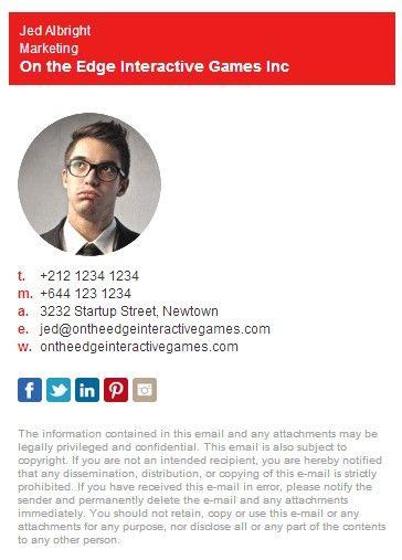 Professional Email Signature    wwwfiverr minahmmas - sample email signature