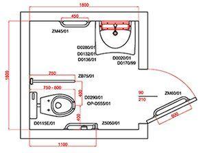 Misure E Dimensione Bagni A Norma Banheiro Acessivel Medidas