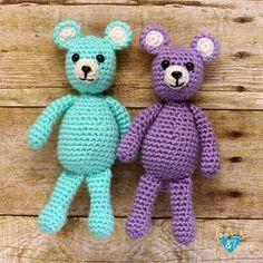Mini Bear Amigurumi Stricken Und Hakeln Und Stricken