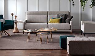 Sofas De 2 Y 3 Plazas Sofa Moderno Decoraciones De Casa Muebles Para Tienda