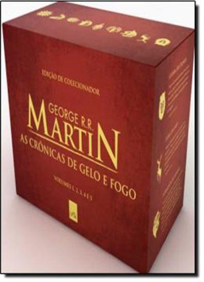 Box As Cronicas De Gelo E Fogo Edicao De Luxo Limitada Fogo