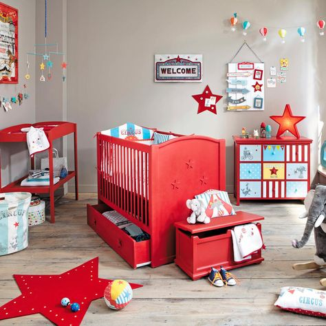 Collection Junior 2015 Maisons Du Monde Avec Images Chambre Bebe Rouge Deco Chambre Enfant Deco Chambre