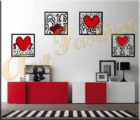 Adesivi Murali Keith Haring.Home Designer Essentials 2017 Pc Wall Stickers Home Decor Decals Stickers Stickers