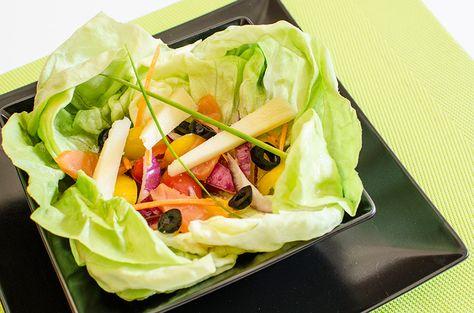 Ensalada de trocadero y Queso manchego semicurado Las Terceras | Aperitivos | Cuñas de queso manchego | Castilla La Mancha | Queso Artesano | Finca Las Terceras | snack time | Healthy Food | Cheese Salad