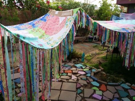 Items similar to Custom 18ft canopy Boho Wedding decor Hippiewild Floral Hippie Patchwork shabby chic MADE TO ORDER MultiColor Bohemian Photo Backdrop gypsy on Etsy